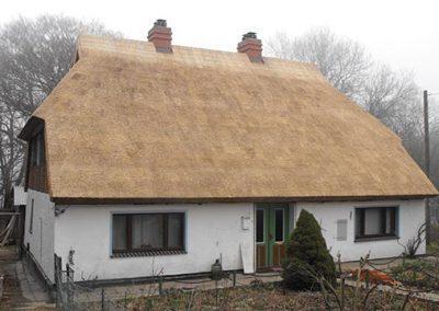 Sanierung eines Reetdachs