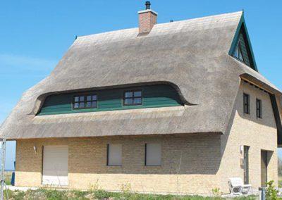 Neubau-Reetdachhaus