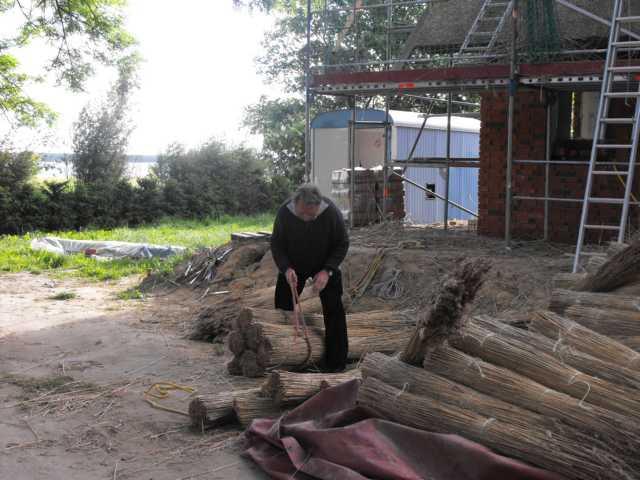 Vorbereitung des Reets